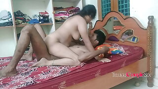 telugu couple having romantic sex