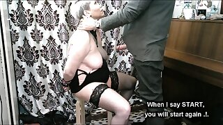 Handcuffed deep throat and other adventures of mature marionette slut