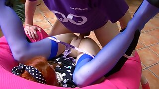 French amateur Redhead Opened up Legs for naughty Fuck