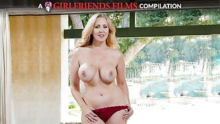 Julia Ann Milf & Teenager Lesbian Compilation - GirlfriendsFilms