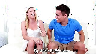 MyVeryFirstTime - Aubrey Sinclair porks her step-brother for the first time