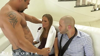 BiPhoria - Bisexual Couple Hires Stripper For Anniversary
