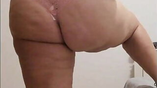 Summer dress, Pink thong Plumper MILF with yam-sized tits and ass