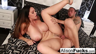 Alison's raw throbbing cooter gets stuffed by Chad