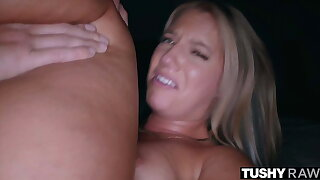 TUSHYRAW, Bootylicious Candice gets her asshole stretched out