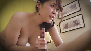 Japanese hotel massage led to blowjob and raw sex