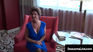 Big bOObed Texas Cougar Deauxma Pussy Tears up Latina Cougar
