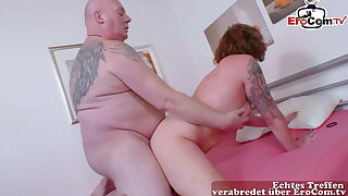 German mother fucks father, mature housewife