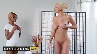 Super-steamy And Mean - (Kinsley Karter, Nicolette Shea) - Put Your Body Into It - Brazzers