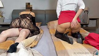 cuckold business date with secretary - business-bitch