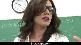 Sheena Ryder Fucks The Whole Class And Gets Their Loads