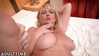 ADULT TIME – Immense Titted Gilf Gets Fucked By A Lucky Stud