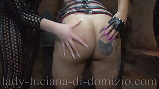 Caning by 2 Mistresses