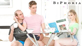 BiPhoria - Couple's Bisexual Dream Shows Up In Backyard