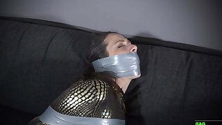 Julia - Catsuit PVC Gauze Bondage
