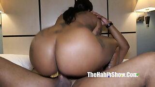 Damn, she's thick. Phatt booty dominican chocolate Cokaiine Stax
