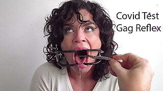 Covid Test Gag Reflex