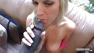 POV! Hot Brooke Banner Gets Some Black Meat From Lex Steele!