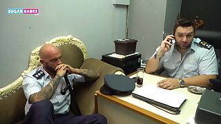 SUGARBABESTV : GREEK Faux POLICE PART 3