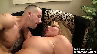 Only3x Presents - Karen Fisher and Chris Strokes in Blowjob Scene