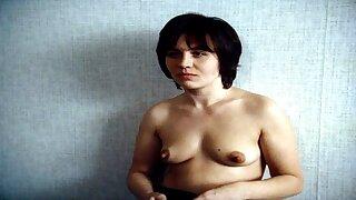 Lili Monori without bra in a movie