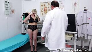Lush pornstar Alexa Bold investigated by kinky medic
