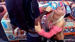 First BBC for Bombshell Nubile Carla Cox at Backroom Party