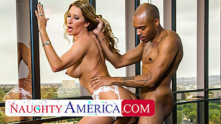 Naughty America - Sloan Rider gets dicked down by employee