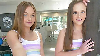 CUM4K Creampie Foursome With Twin Sisters On Labor Day