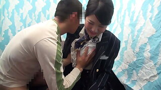 Cabin Attendant Gives out Sexual Relief! Part1
