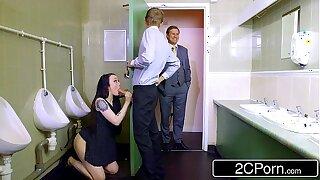 Daddy's Little Bathroom Cleaner - Bratty Brit Whore Alessa Savage