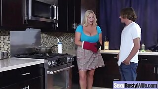 Big-titted Housewife (karen fisher) In Hardcore Sex Action Secene movie-18