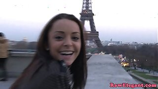 Pickedup french honey interracial buttfucked