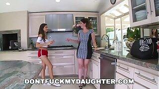 DON'T Drill MY Daughter-in-law - Lil' Teenage Nina North Fucks The Pool Man