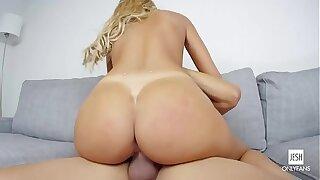 PORNOSEDUCTION.COM - Big pipe for latina Augustus Ames best big tits pornstar