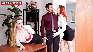 LETSDOEIT - Demonstrates Us What You Got Boss! Nobody Will Know (Bunny Colby & Lacy Lennon)