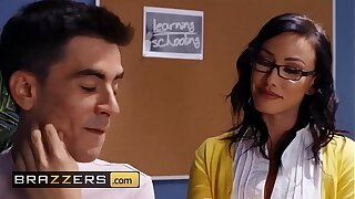 Big Tits at School - (Jennifer White, Jordi El Nino Polla) - Spunking To Class - Brazzers