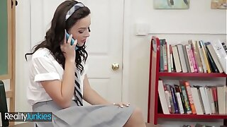 (Petite Dirty) schoolgirl fucks in uniform - Reality Maniacs