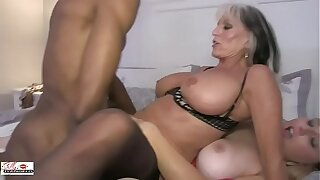 Aunt-in-law and Niece Fuck a Big Ebony Cock Family sinners Sally D'angelo Harmony California