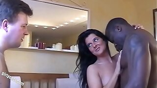 WTF!!! Nadja turns her boyfriend into a cuckold