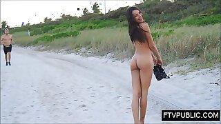 19 yo teen public nude