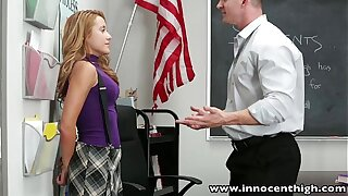 InnocentHigh Smoker nubile student fucked in classroom