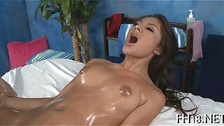 Sexy 18 year old gril receives pummeled rigid