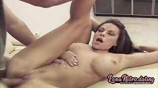 Needy slut rides dick in the car & at home! LenaNitro.dating