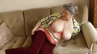 OmaPasS Homemade videos of Well Aged Grandmothers